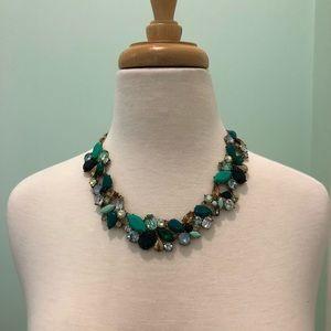 Beautiful NWT J.Crew Statement Necklace Emerald